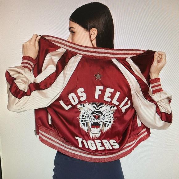 Pam & Gela Jackets & Blazers - PAM & GELA Los Feliz Tigers Bomber Jacket